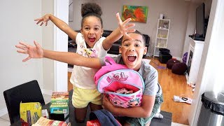 First Day of School Routine | FamousTubeKIDS
