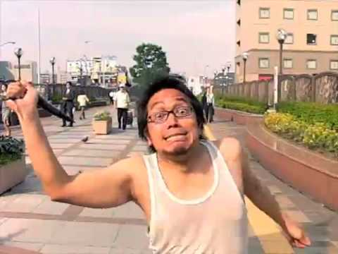 Japones - Vídeo de japoneses corriendo en cámara lenta