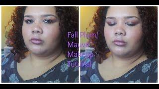 Plummy Mauve Fall Makeup Tutorial w/ Metallic Lip  | Vlogtober 17