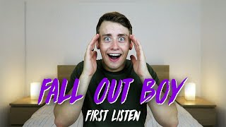 Download Lagu Listening to FALL OUT BOY for the FIRST TIME | Reaction Gratis STAFABAND
