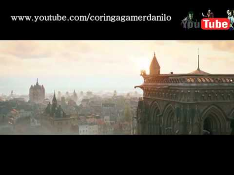 Assassin's Creed Unity e  Rouge trailers DUBLADOS