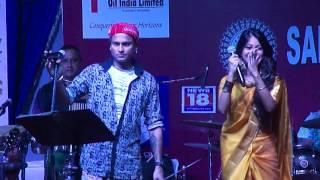 MORILONG MORILONG LAGI JAI   Zubeen Garg & Ritrisha Sarmah   New Delhi   Durja Puja   2016   Part 2