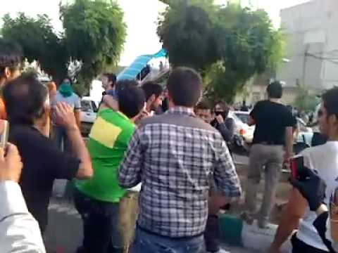 دفاع مردم post-election unrest in Iran Tehran Tazahorat Part2 تظاهرات در تهران