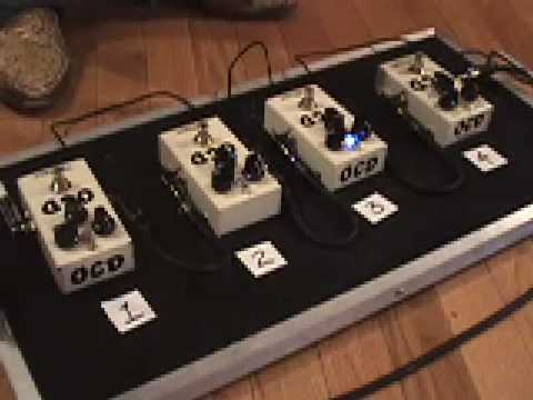 Fulltone OCD Version 1 2 3 4 comparison between all versions with Strat and Dr Z MAZ amp