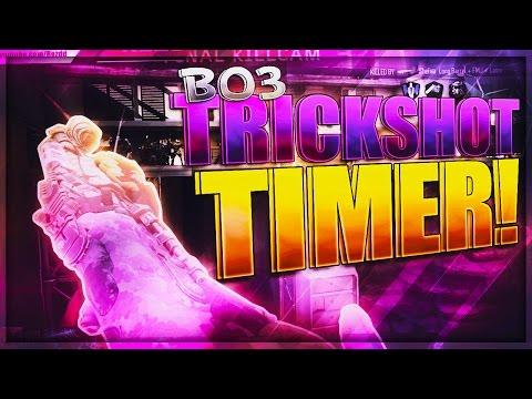 BO3: Trickshot Timer #1 (USING UNIQUE WEAPONS!) #1