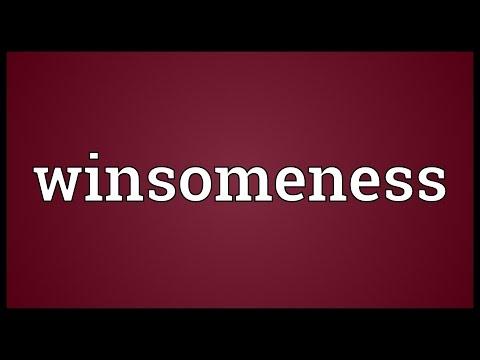 Header of winsomeness