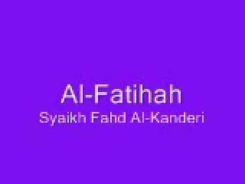 Al-Fatihah (Dua belas bacaan secara taranum)