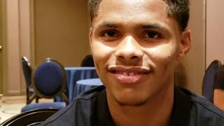 """Undefeated Shakur Stevenson calls out """"Tank Davis,""""  division on notice, ready to showout in Newark"""