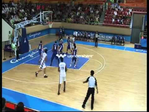 India vs. Philippines (Men's Basketball) Part 1 - Asian Games 2010