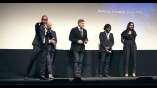 Q&A Session after the screening the film Dheepan at TIFF.
