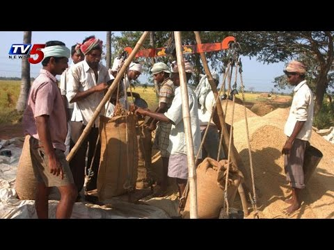 Farmers Cheated By Paddy Traders in Telangana : TV5 News