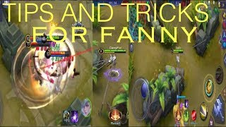 FANNY TIPS AND TRICKS | Wall Spam, Triple Cables, and More