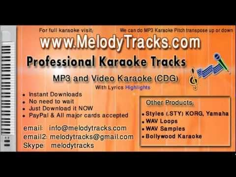 O Meri mehbooba tujhe jana - Rafi KarAoke - www.MelodyTracks...