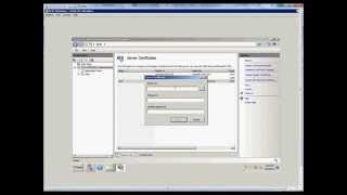 How to export a certificate on a Windows 2008 R2 server.wmv