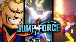 ALL SPECIAL MOVES From All Might In JUMP FORCE Datamined!