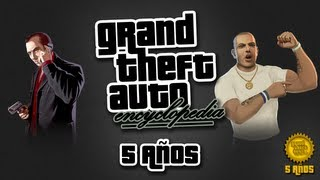 Grand Theft Encyclopedia - 5 Años