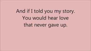 download lagu My Story By Big Daddy Weave  Lyrics gratis