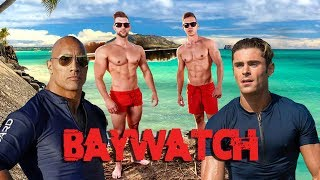 Nézz ki úgy, mint DWAYNE JOHNSON / ZAC EFRON!!! (BAYWATCH)