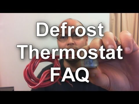 Defrost Thermostat - How to Test and How they Work