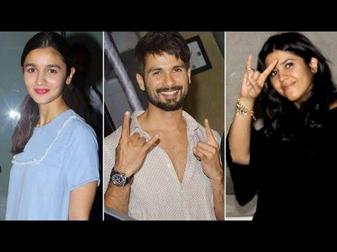 Udta Punjab SUCCESS PARTY | Shahid Kapoor, Alia Bhatt, Ekta Kapoor