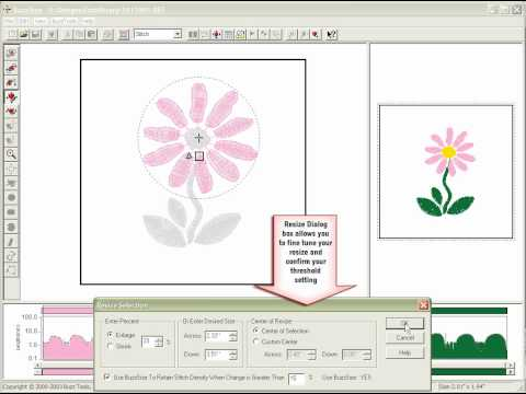 Wilcom Embroidery Digitizing tutorial - Introduction to Input A