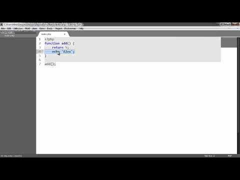 Learn PHP: Functions
