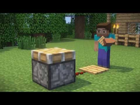 Piston Problems - A Minecraft Animation