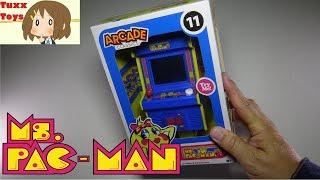 Arcade Classics Mini Ms Pac-Man Arcade Style Joystick