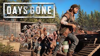 FIGHTING a ZOMBIE HORDE!! (Days Gone, Part 4)