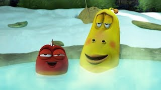 LARVA - HOT SPRINGS | Cartoons For Children | LARVA Full Episodes | Cartoons For Children