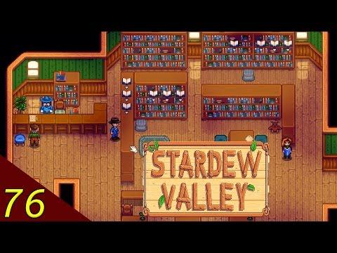 Let's Play Stardew Valley Deutsch Part 76 | Bücher über Bücher