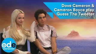 Dove Cameron & Cameron Boyce play Guess The Tweeter