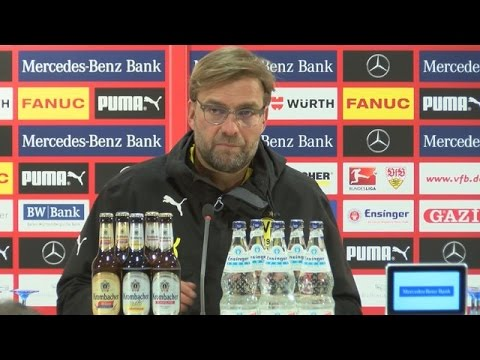 Pressekonferenz: Jürgen Klopp nach dem Sieg beim VfB Stuttgart (3:2) | BVB total!