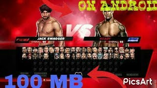 🔴(100MB)HOW TO DOWNLOAD WWE 2K14 IN 100 MB ON YOUR ANDRIOD REAL