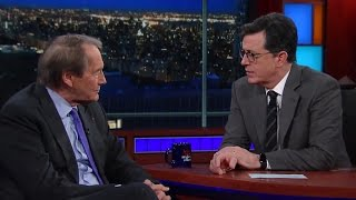 Charlie Rose tells Stephen Colbert why he has two phones