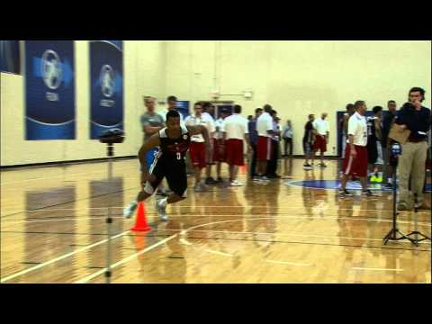 Trey Burke at the NBA Draft Combine 2013