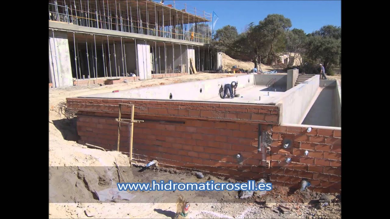 construccion de piscina infinito munich youtube