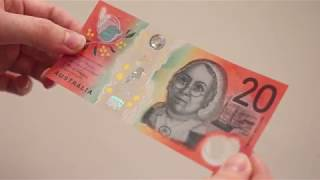 Next generation of Australian banknotes: New $20 footage