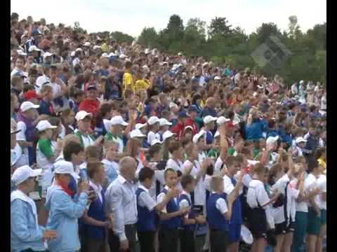 Орлёнок финишируют президентские спортивные соревнования