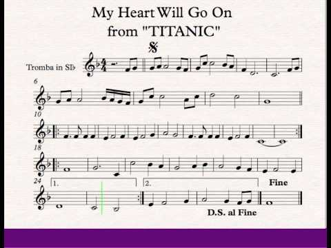 My Heart Will Go On - Titanic - Trumpet