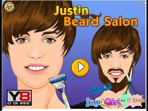 เกมส์โกนหนวดจัสตินบีเบอร์ Justin Beard Salon