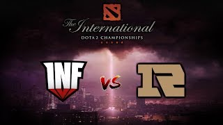 INFAMOUS vs RNG - Ultima Partida de Grupos The International 2019