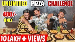 UNLIMITED PIZZA EATING CHALLENGE Feat. MSK vlogs | Wake'N'Bite vs MSK vlogs | Food challenge(EP-137)