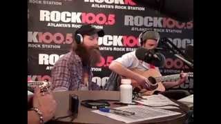 The Law Band on Air with The Regular Guys ATL Rock 100.5 FM - Jan 31, 2013