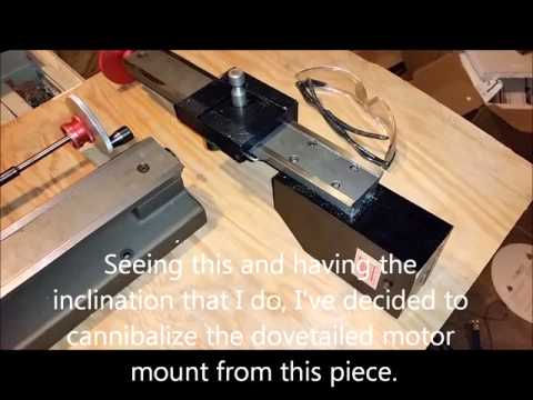 Converting a Sherline Lathe into a Production Lathe 1