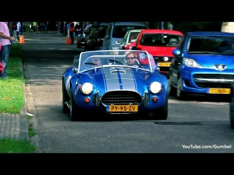 2x Dax Cobra 427 - Brutal V8 Sounds!