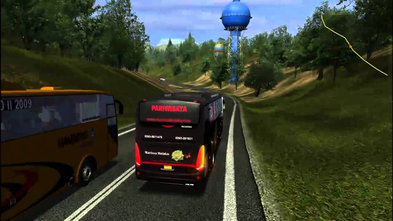 UKTS Indonesia Map and Bus Mod - YouTube