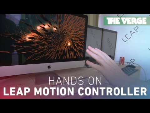 The Leap Motion experience at SXSW 2013
