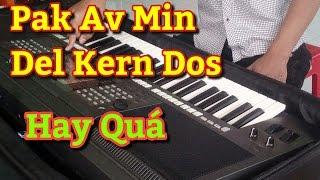 Nhạc Sóng Khmer Miền Tây 2017 | Pak Av Min Del Kern Dos | Organ Phol Sơn Khmer Keyboard Cover