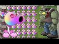 Plants vs Zombies - Pea Hypno-shroom vs Dr. Zomboss
